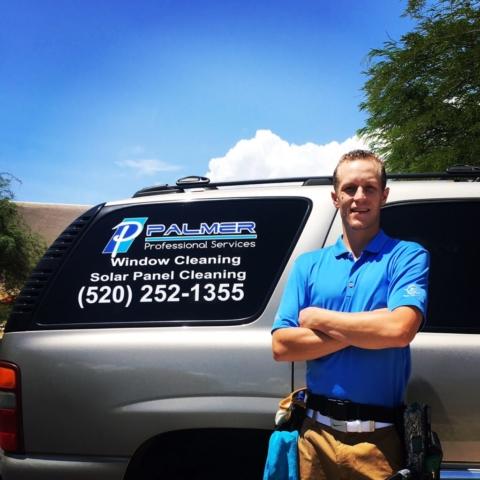 Jordan Palmer owner of Palmer Professional Services