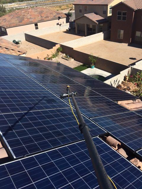 Solar Panel Cleaning in Sahuarita